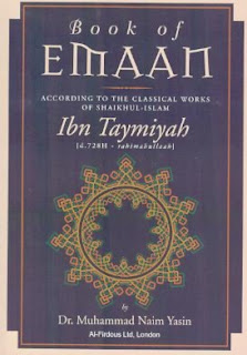 The Book Of Emaan by ibn Taymiyyah