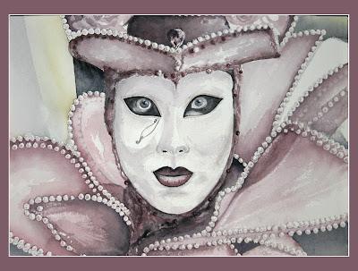 véritable images détaillées gamme complète d'articles Les Aquarelles d'Any N.: Carnaval de Venise - 2007