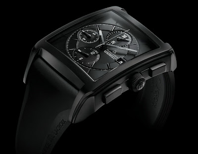 Montre Maurice Lacroix Pontos Chronographe Rectangulaire Full Black