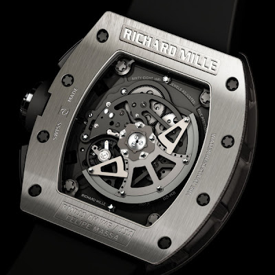 Montre Richard Mille RM011 Flyback chronographe Felipe Massa