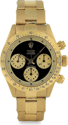 Montre Rolex Cosmograph Daytona Paul Newman Ref 6265 Or