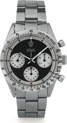 Montre Rolex Cosmograph Daytona Paul Newman Ref 6239 Cadran Noir