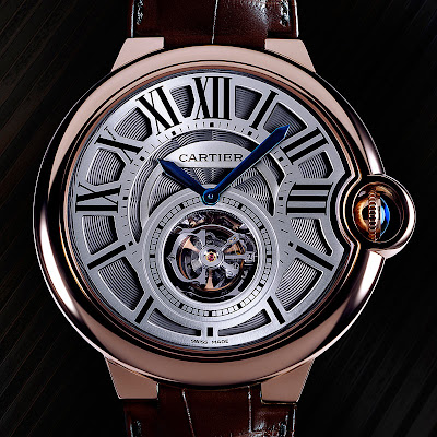 Montre Cartier Ballon bleu Tourbillon Volant