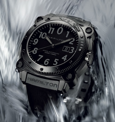 Montre Hamilton BeLOWZERO Full Black