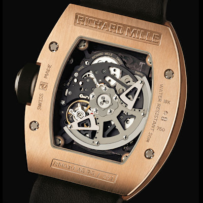 Mouvement Montre Richard Mille RM010 Automatique Squelette - calibre RM 005-S