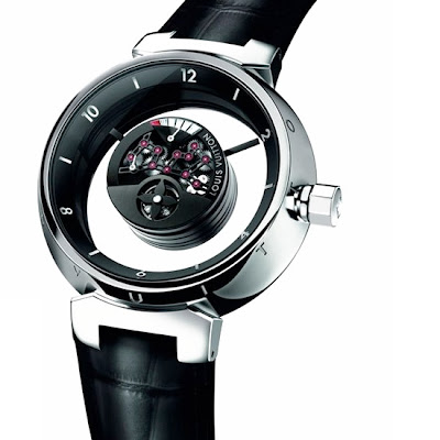 Montre Louis Vuitton Tambour Mysterieuse