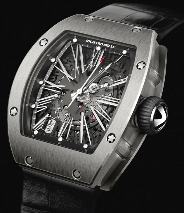 j 39 aime les montres la montre du jour richard mille rm 023. Black Bedroom Furniture Sets. Home Design Ideas