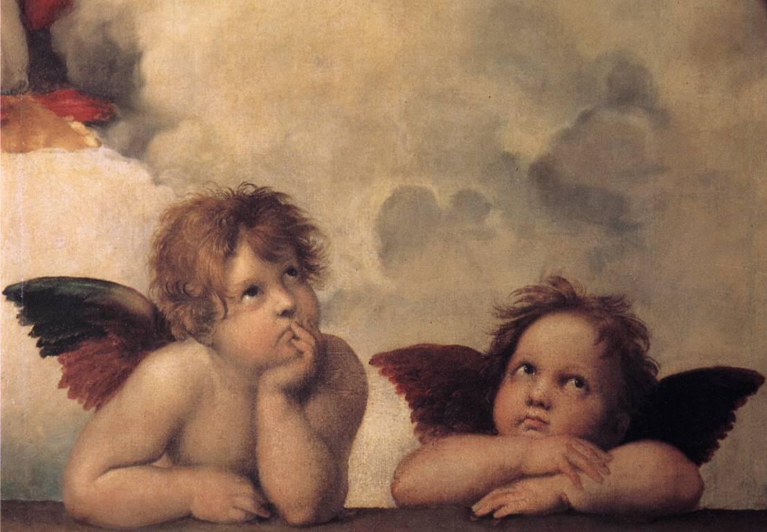 IMAGE(http://1.bp.blogspot.com/_RwooCpYJAMo/TMAfaYFOHQI/AAAAAAAAAGQ/QFTh-G_MFtc/s1600/raphael-sistine-cherub.jpg)