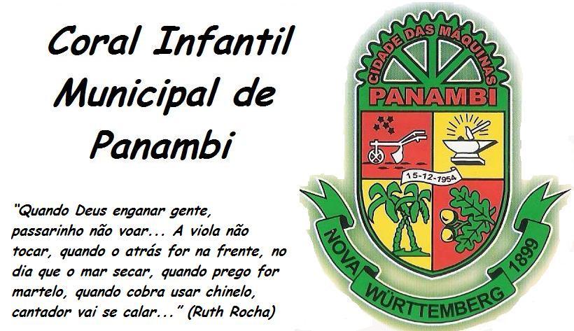 Coral Infantil Municipal de Panambi