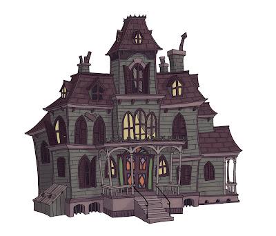 Resultado de imagen de la mansion encantada