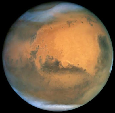Mars weather in 2001