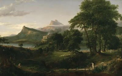 Thomas Cole The Arcadian or Pastoral State