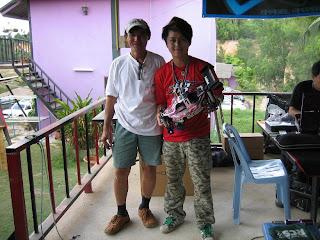 Lai Kok Heng with Hara!