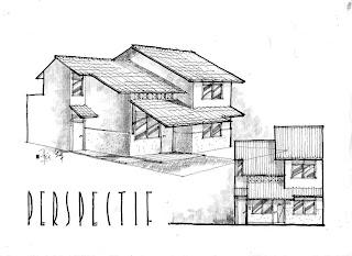 Sketsa Rumah Idaman