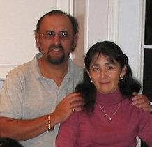 Mi esposa Annie y yo