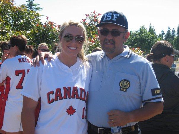 Danielle Lawrie y yo