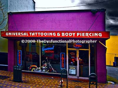 The Man In The Tattoo Parlour