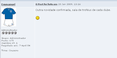 Resultado de imagem para trofeus brasfoot 2009