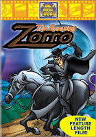 The Amazing Zorro DVD cover