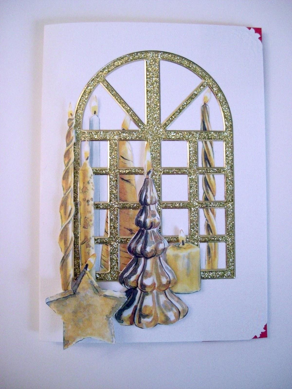 siri 39 s bastelwelt 309298 kartenkomplettset weihnachten. Black Bedroom Furniture Sets. Home Design Ideas