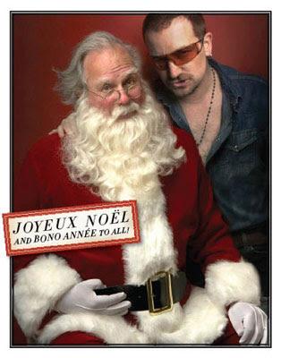 Bono y Santa Claus