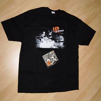 U2 Go Home: Live From Slane Castle camiseta y CD