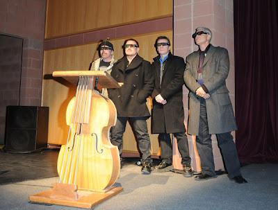 Presentación de U2 3D en Sundance