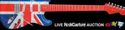 guitarra de Bono a subasta