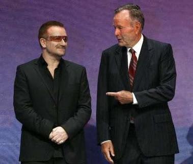 Bono y 2007 Liberty Medal