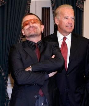 Bono en el senado USA