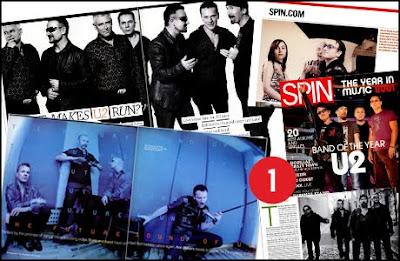 U2 en Spin Magazine