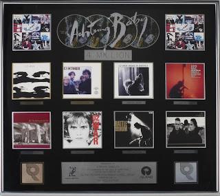 Cuadruple disco de platino U2