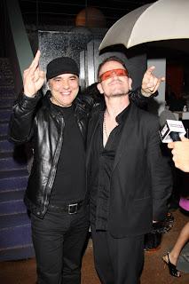Bono y Daniel Lanois en Cannes