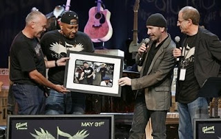 The Edge Icons of music