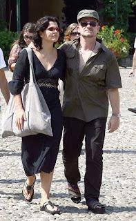 Bono y Ali en Portofino, Italia 2