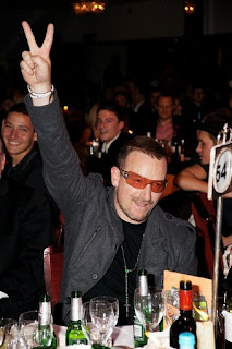 Bono en el MIT 2008 en Londres 2