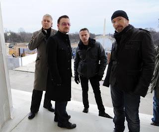 U2 en Washington para el concierto de Obama