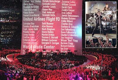 U2 en la super bowl de 2002