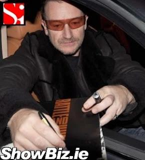 Bono Dublin 2009