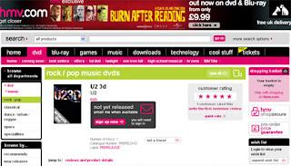 U23D DVD en HMV