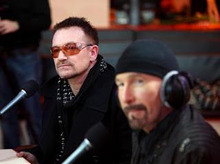 U2 en la radio francesa NRJ 1