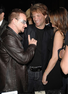 Bono en la fiesta de Vanity Fair, Tribeca Film Festival 2009 3