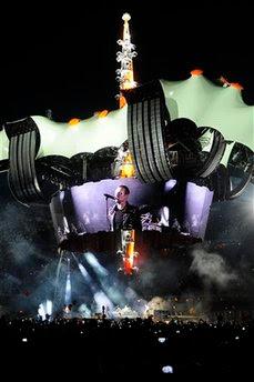 U2 Barcelona 360 Tour españa