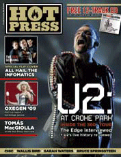 U2 Hot Press cover 2009