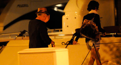 Adam Clayton y su novia en Dubrovnik 3