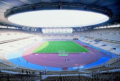 Estadio Olímpico de La cartuja en Sevilla