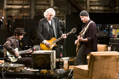 The Edge, Jimmy Page y Jack White