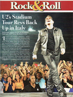 U2 360 Tour en Rolling Stone