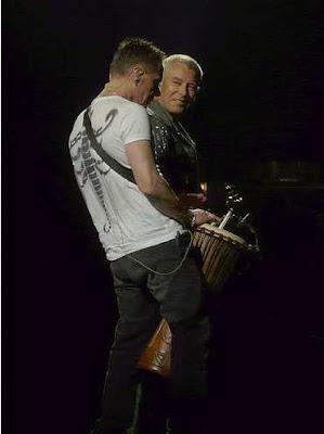 Camisetas Larry Mullen Jr en U2 360 Tour 4