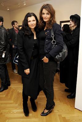 Ali y Helena en Nueva York con anton Corbijn